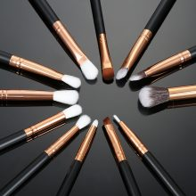 12 Pieces of Professional Soft Make up Brush