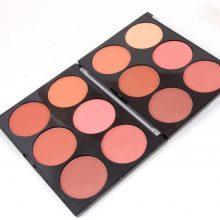 6 Colors Blushes Palette Set