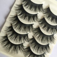 5 Pairs of Beautiful Thick Long Eyelashes