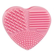 Heart Shaped Silicone Makeup Brush Cleaner